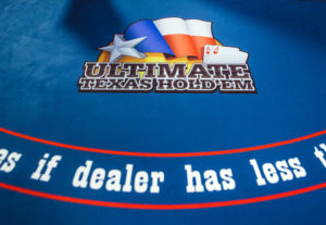 Live Casino ultimate texas holdem