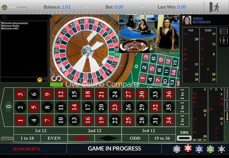 Vivo Live European Roulette Live Roulette Vivo Gaming