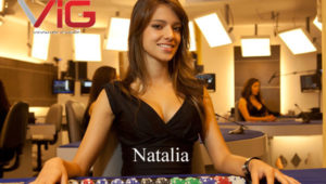 natalia live dealet at visionary igaming