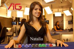 natalia live dealet at visionary igaming