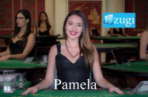 Pamela Ezugi Live Dealer