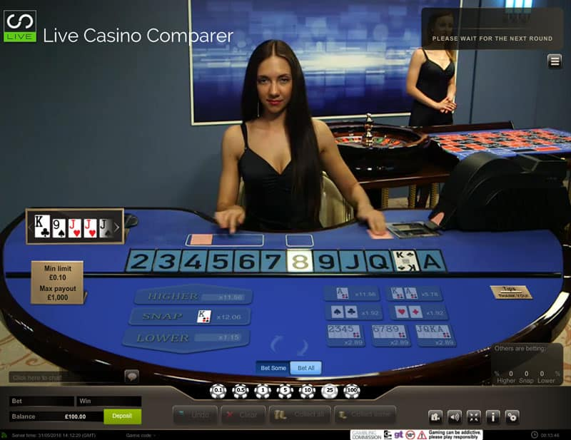 Betfair Live Casino Be Spoilt With The Latest Live Games