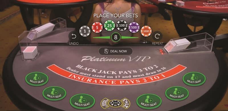 Blackjack Deal Now