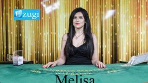 melisa ezugi live dealer