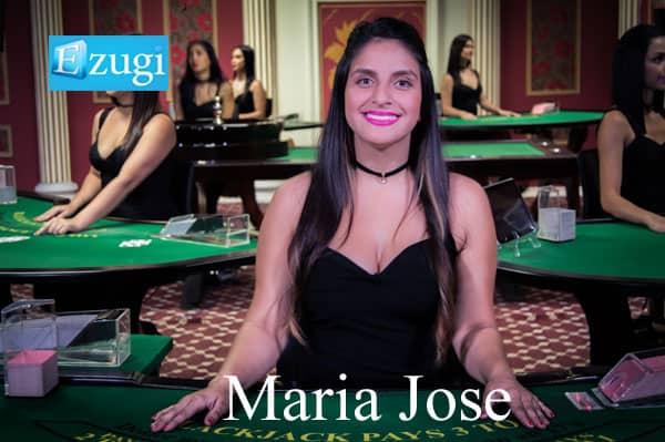 maria jose Ezugi live dealer