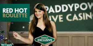 Paddy POwer roulette bonus