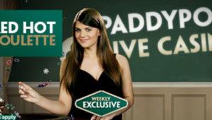 Paddy POwer roulette bonus