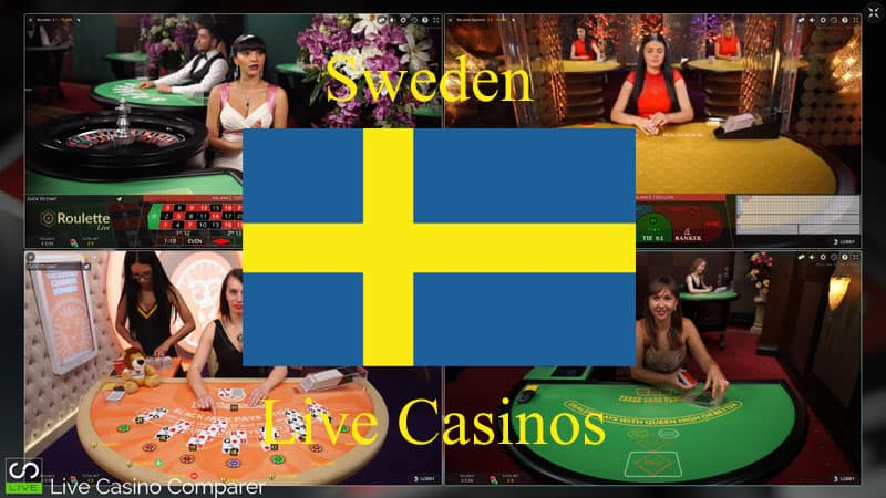 Swedish live casinos
