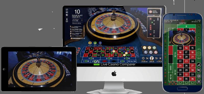 roulette online land based casino