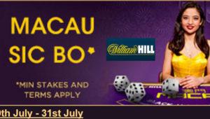 William Hill LIve Blackjack Promotion