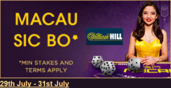 William Hill LIve Blackjack Promotion