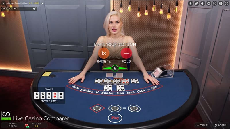 Casinos that have ultimate texas holdem
