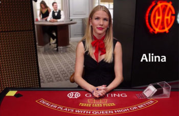 Alina Live Dealer