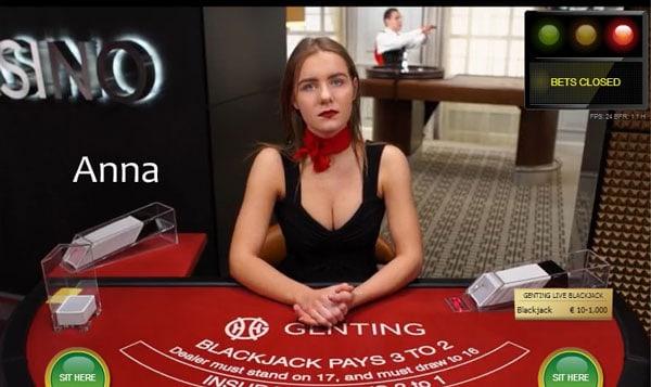 Anna live dealer