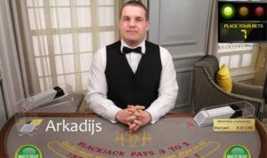Arkadijs live dealer
