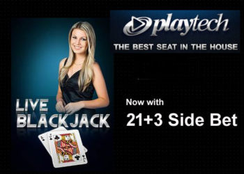 Playtech 21+3 side bet