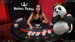 royal panda live blackjack