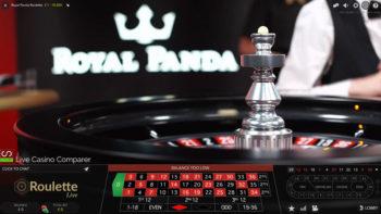 royal panda live roulette tournament