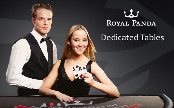 Royal Panda Dedicated Live Casino