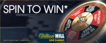 william hill spin2win