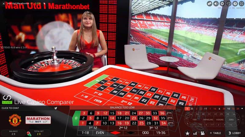manchester united live casino roulette