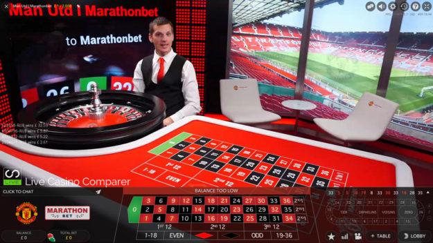 manchester united live casino
