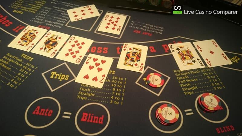 ultimate texas hold em las vegas casino