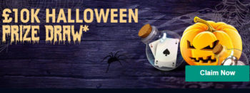 William Hill Halloween prize draw