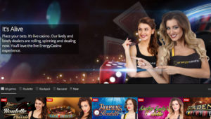 energy live casino