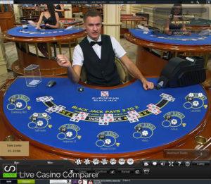 playtech live blackjack - hermes table