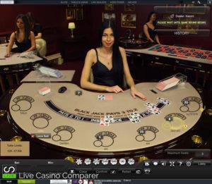 playtech live blackjack - Jupiter Table