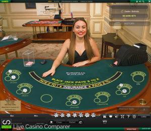 playtech live blackjack - Mars Table