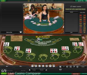 playtech live blackjack - Mixed screen