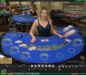 playtech live blackjack - Pluto Table