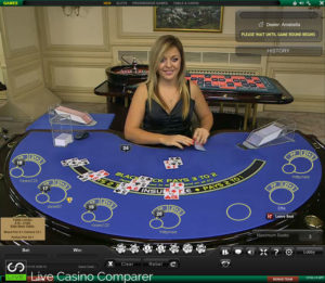 playtech live blackjack - Poseidon table