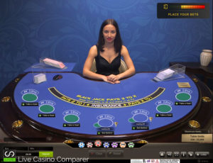 playtech live blackjack -VIP Table