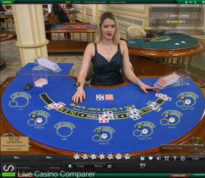 playtech live blackjack - Vulcan Table