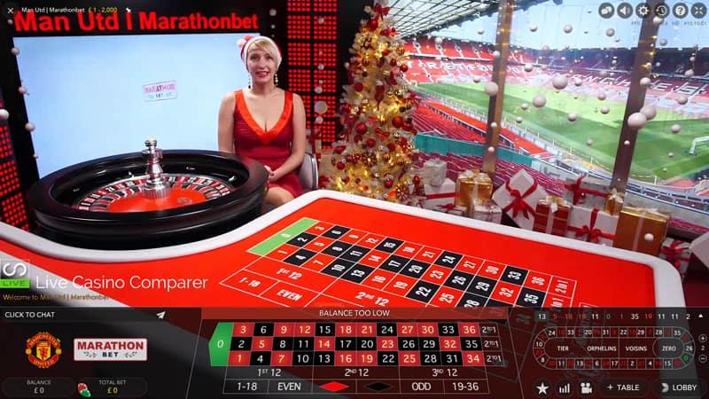 marathonbet xmas live dealer