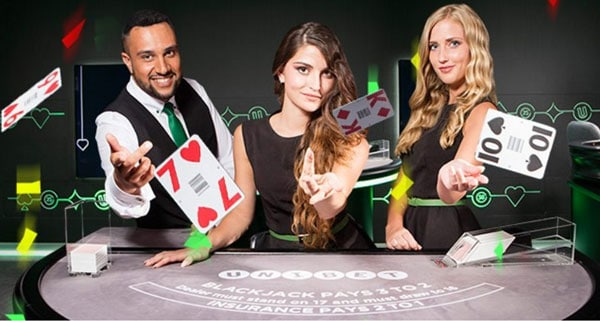 £50 free bonus money at Unibet Live Casino