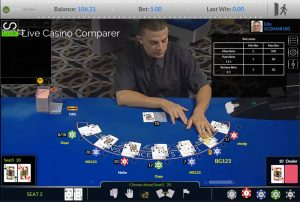 visionary igaming live blackjack hd with surrender