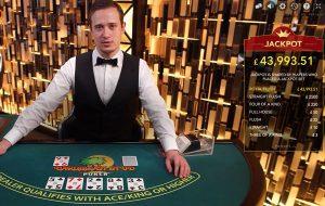 caribbean stud poker progressive jackpot