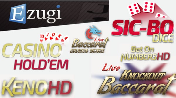 New live Games at Ezugi