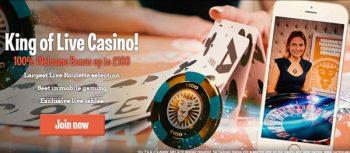 leo vegas live casino bonus