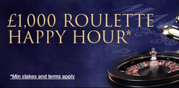 william hill happy hour roulette