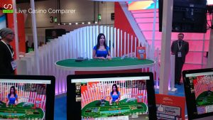 Asian Live dealer at ICE 2017 - asia gaming live baccarat