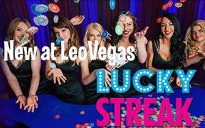 leo vegas add luckystreak live casino