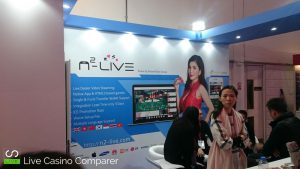 Asian Live dealer at ICE 2017 - n2-live