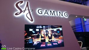 Asian Live dealer at ICE 2017 - sa gaming