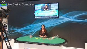 Asian Live dealer at ICE 2017 - skycity