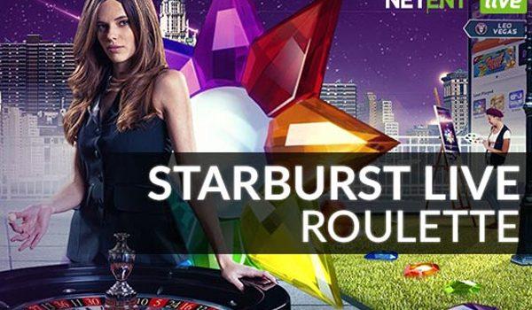 starburst live roulette